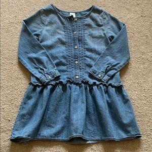 OshKosh B'gosh Dresses - Girls Oshkosh B'Gosh Denim Dress